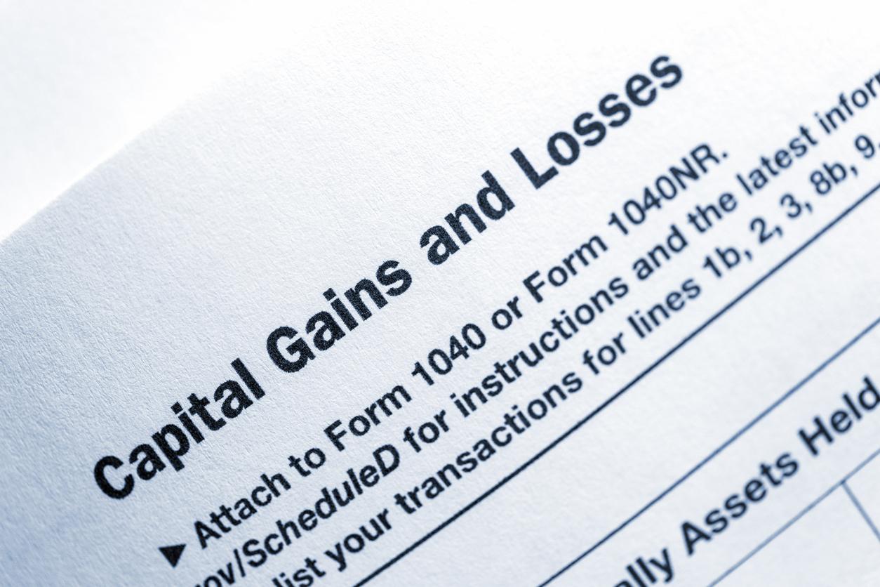 capital gains tax form
